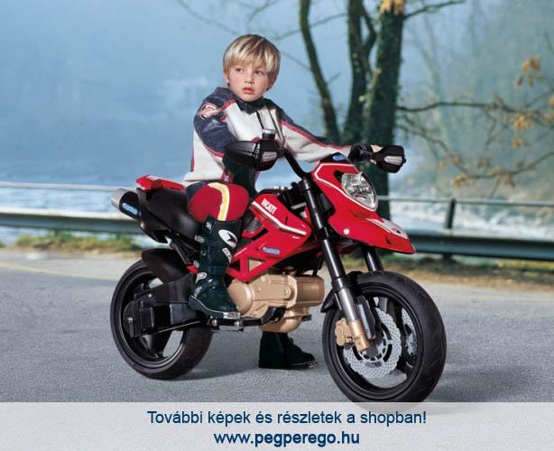 ... gyermektraktor Ducati Hypermotard 12V - elektromos gyermekmotor ... 1c53eec2e5
